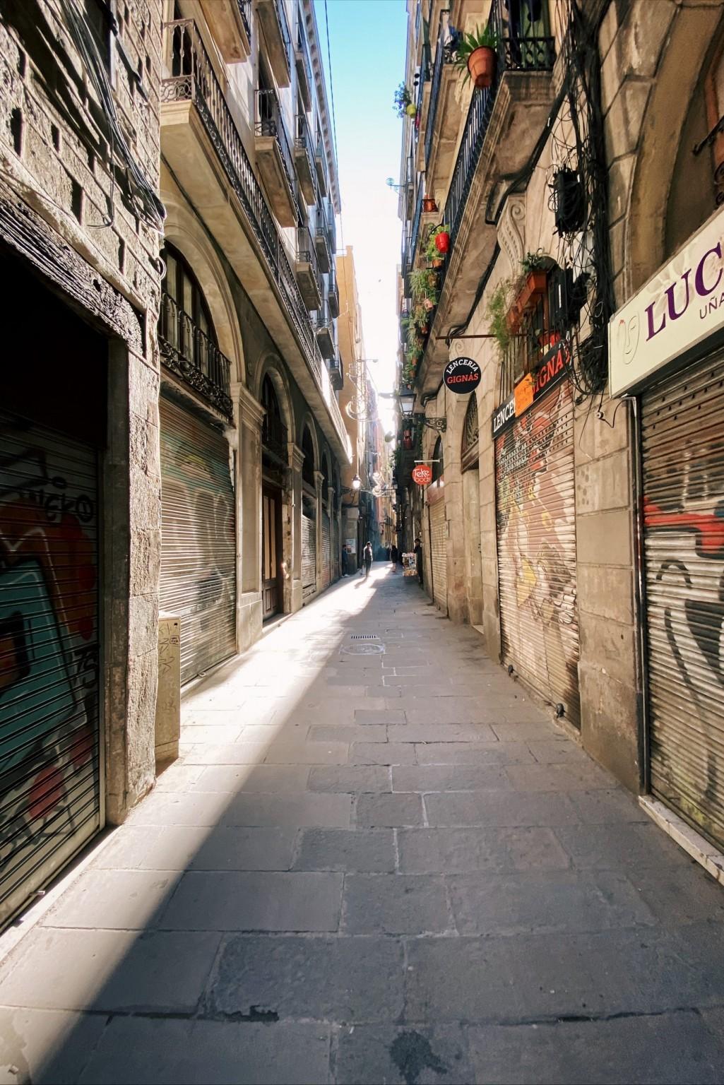 Barcelona's Alleyways